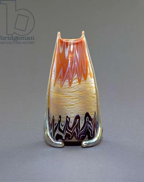 Vase, 1901 (glass)