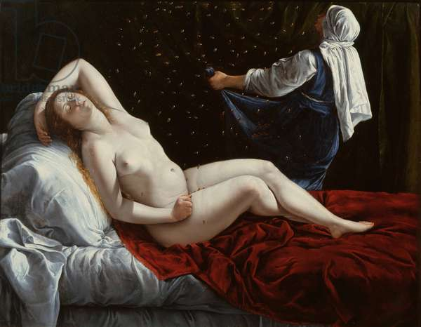 Danaë, c.1612 (oil on copper)