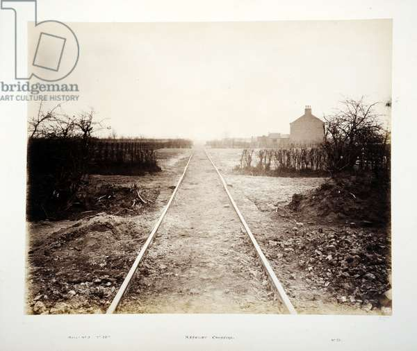 Asselby Crossing, 1882 (sepia photo)