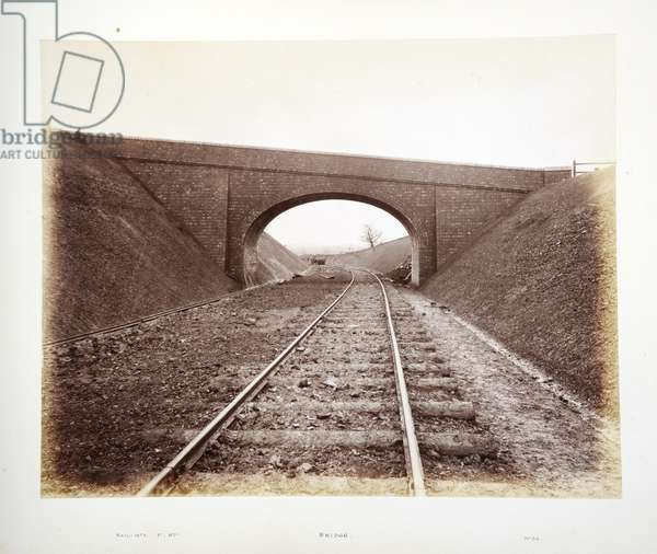 Bridge, 1882 (sepia photo)