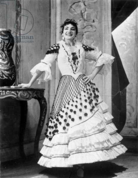 Maria Callas in Gioacchino  A