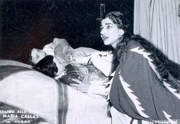 Maria Callas in Bellini 's opera  'Norma'