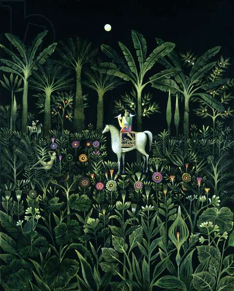 From a Thousand and One Nights 1, 1984 (oil on canvas)