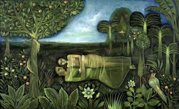 Garden of Eden, 1993 (oil on canvas)
