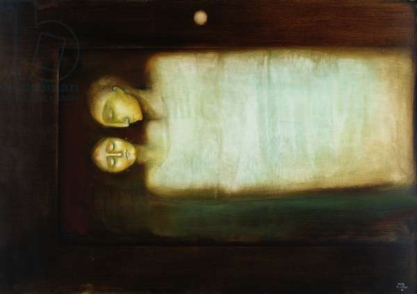 Eternal Peace, 1995 (oil on canvas)