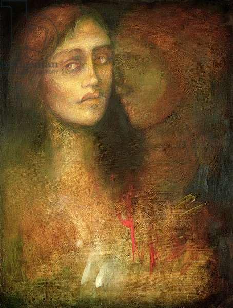 Silent Tears, 2003 (oil on canvas)