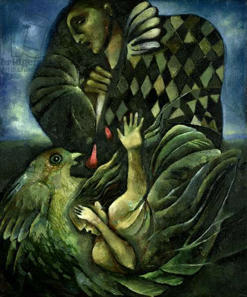 Opera Pagliacci, 1998 (oil on canvas)
