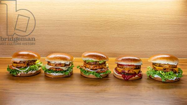 Vegetarian burgers (photo)
