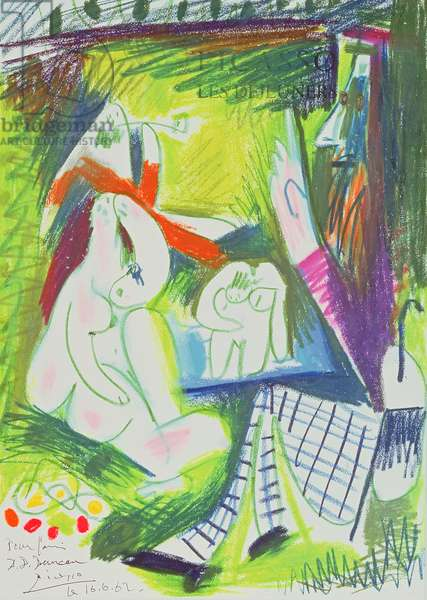 Sketch, 1962 (crayon on paper)
