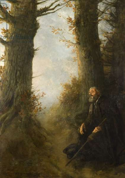 Tired wanderer, 1878 (oil on canvas)