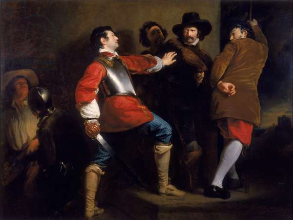 Discovery of the Gunpowder Plot and Taking of Guy Fawkes, c.1823 (oil on canvas)