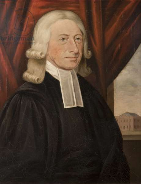Rev. John Wesley (oil on canvas)