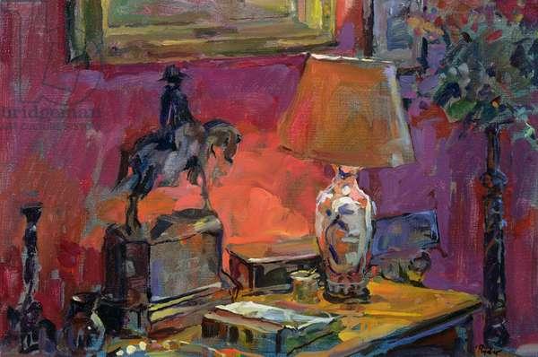 Still Life with Wellington, 1998 (oil on canvas)