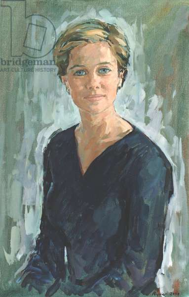Annabel, (oil on canvas)