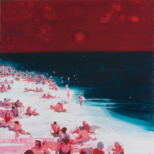 Beach 1, 2005 (acrylic on canvas)