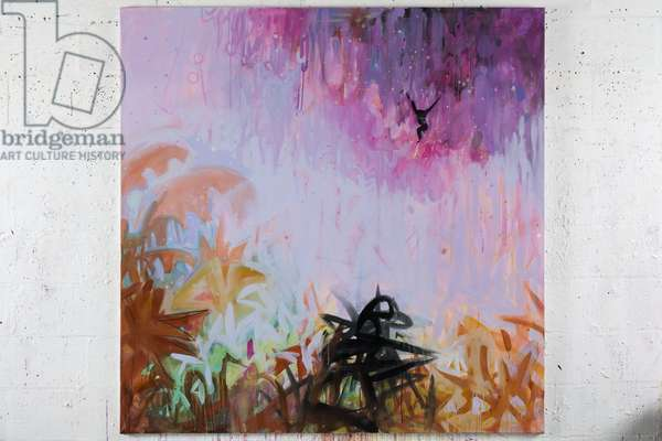 Flamboyant Jungle 4, 2008 (acrylic on canvas)