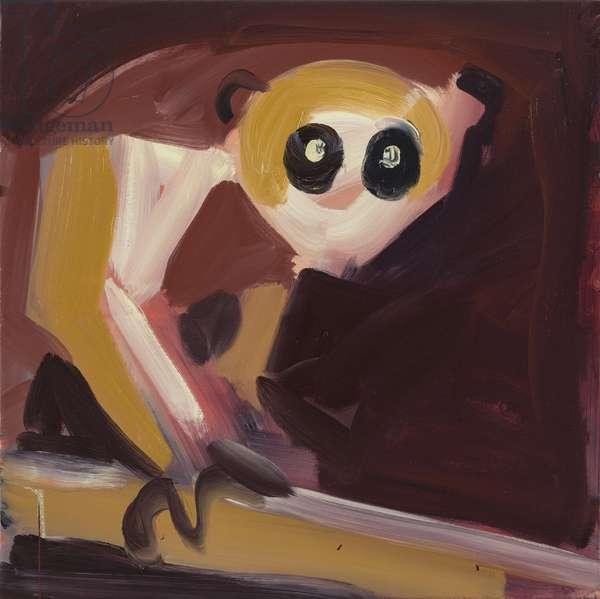 Loris 2, 2016 (oil on canvas)