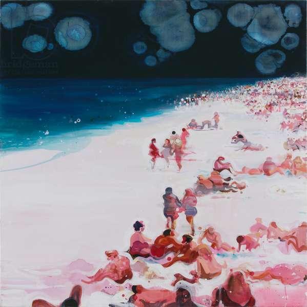 Beach, 2004 (acrylic on canvas)