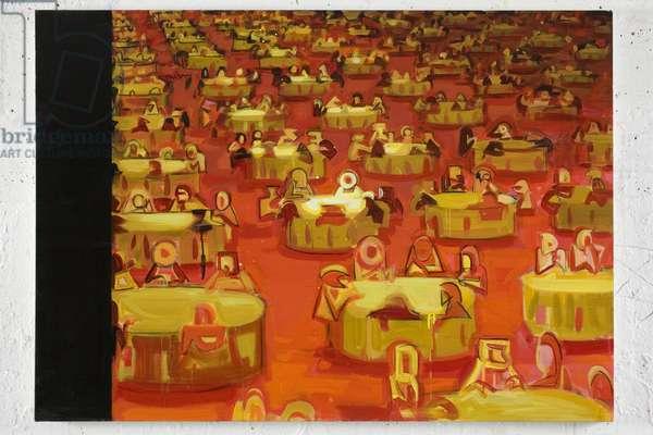 Swarm 1, 2008 (acrylic on canvas)