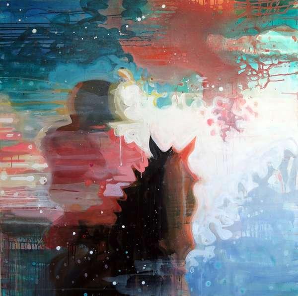 Rider, 2012 (acrylic on canvas)