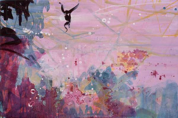Canopy 2, 2004 (acrylic on canvas)