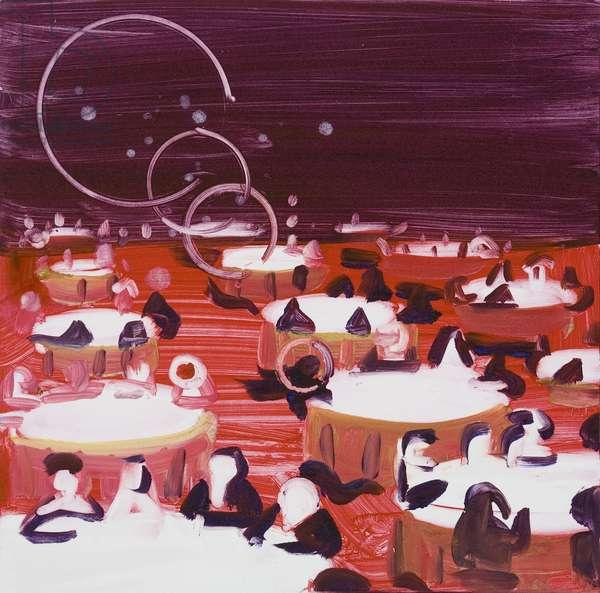 Jabberwocky, 2007 (monoprint)