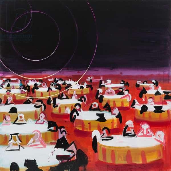 Jabberwocky, 2008 (acrylic on canvas)