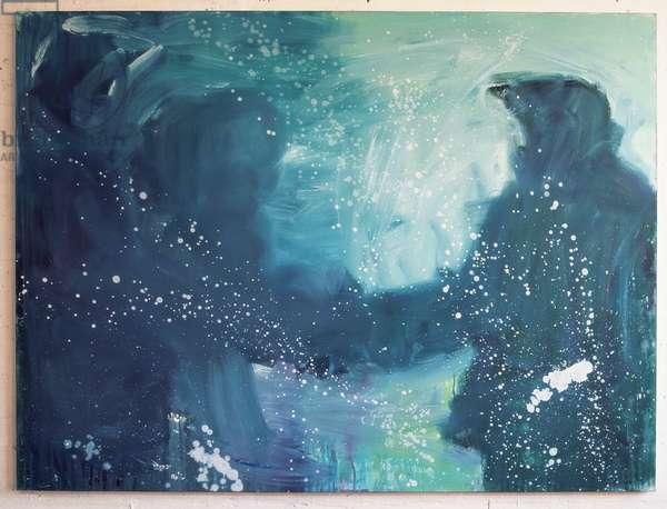 Explorers, 1998 (oil on canvas)