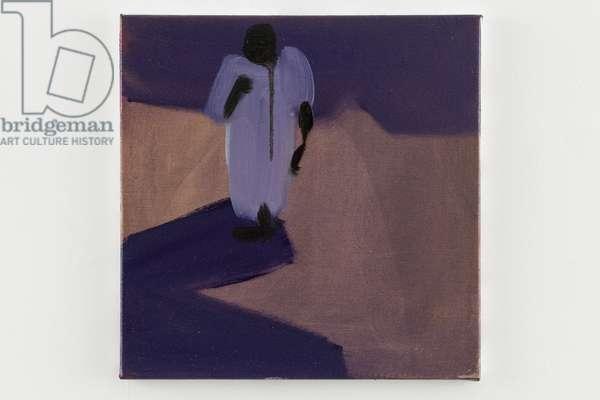 Jemaa-el-Fna, 2014 (oil on canvas)