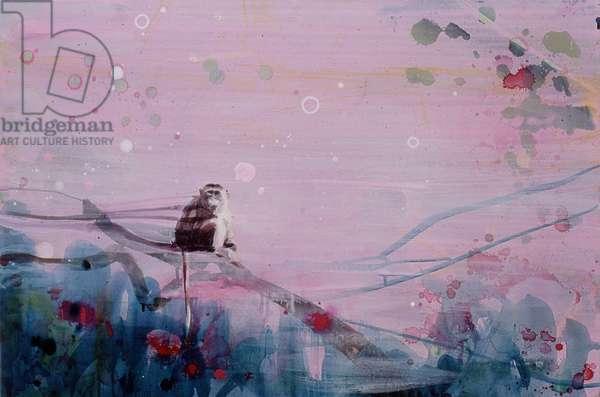 Fear Grin 2, 2003 (acrylic on canvas)