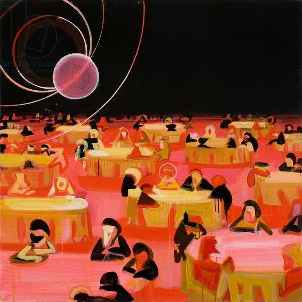 Jabberwocky 3, 2012 (acrylic on canvas)