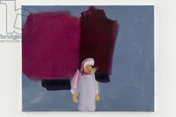 Rue El Gza, 2014 (oil on canvas)