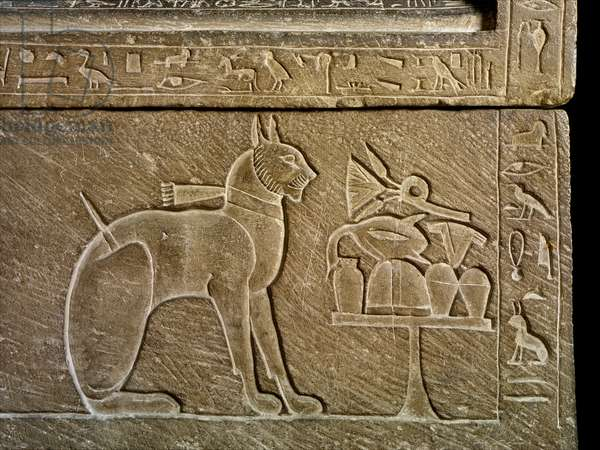 sarcophagus of prince Thutmosis' cat