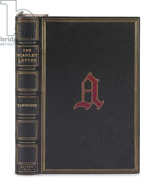 'The Scarlet Letter' by Nathaniel Hawthorne, first edition, first issue, Boston, 1850