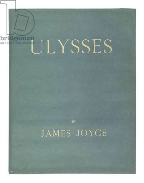 'Ulysses' by James Joyce, Paris, 1922