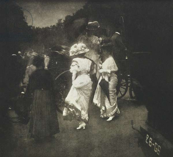 Grand Prix at Longchamps: After the Races (photogravure)