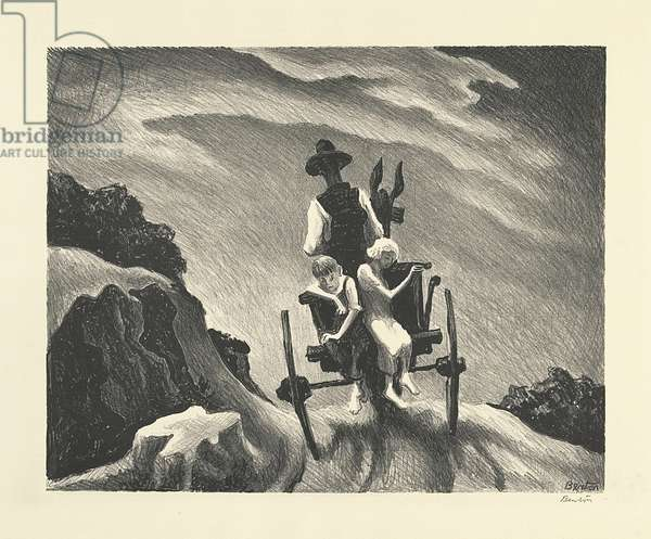 Goin' Home, 1937 (litho)