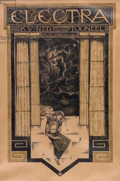 Poster advertising 'Electra', 1920 (colour litho)