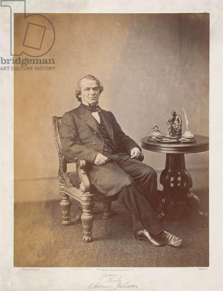Andrew Johnson (b/w photo)