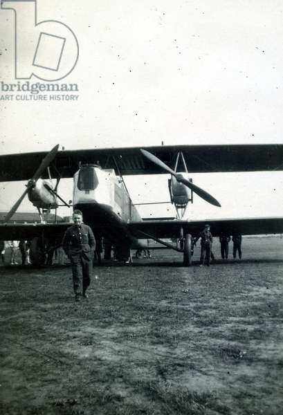 Vickers '150' on trials, No. 2 Flying Training School, Royal Air Force, Digby, Lincolnshire, 1928-30 (b/w photo)