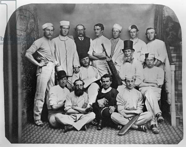 Bandon Cricket Club, Cork, Ireland, c.1860 (albumen print)