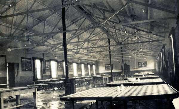 Cranwell Dining Hall, 1928-30 (b/w photo)