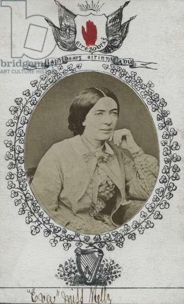 Mary Eva Kelly, Dublin, 1860s (albumen print)