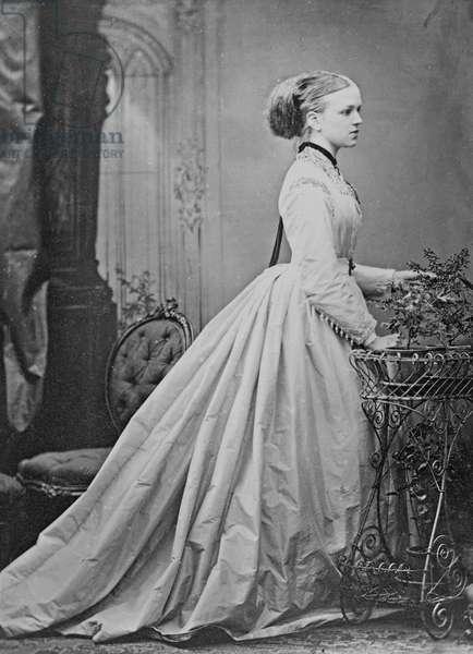 The Hon. Katie Dillon, 1860s (albumen print)