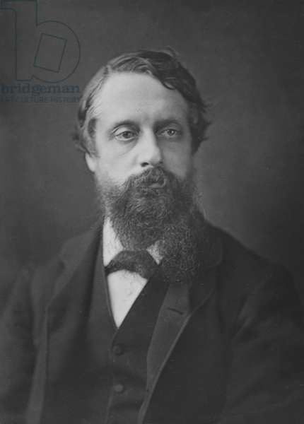 Lord Frederick Cavendish, c.1880 (woodbury type)
