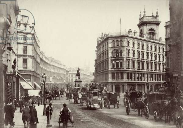 Holborn, London, c.1880 (b/w photo)