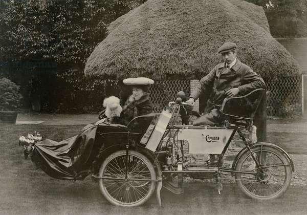 The 1904 Garrard 'Suspended Tri-car', c.1904 (b/w photo)
