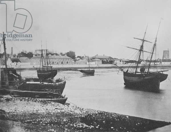 Dungarvan Harbour, County Waterford, 1854 (albumen print)