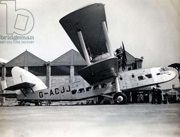 Imperial Airways 'Short Scylla' (b/w photo)