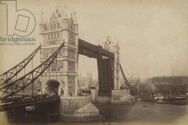 Tower Bridge, London (b/w photo)